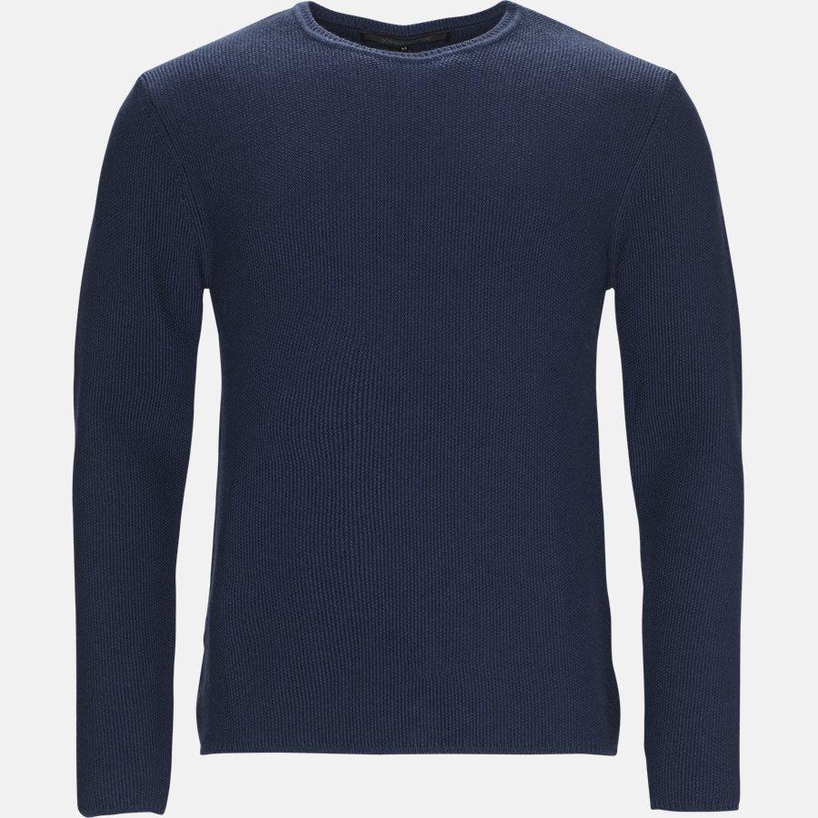 BOWIE - strik - Strik - Regular fit - BLUE MELANGE - 1